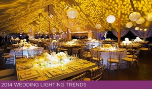 2014 Wedding Lighting Trends Photos