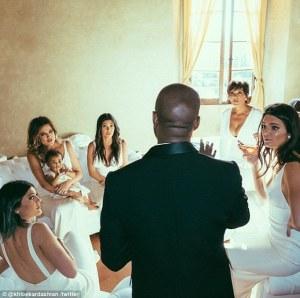 Kanye WEdding party